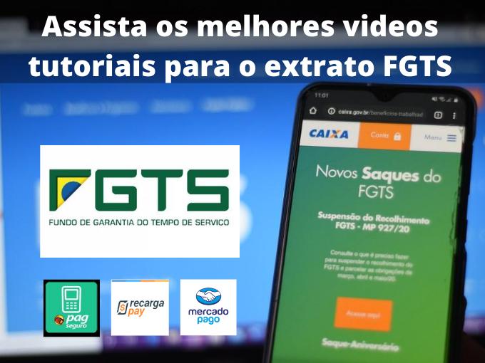 Assista os melhores videos tutoriais para o extrato FGTS