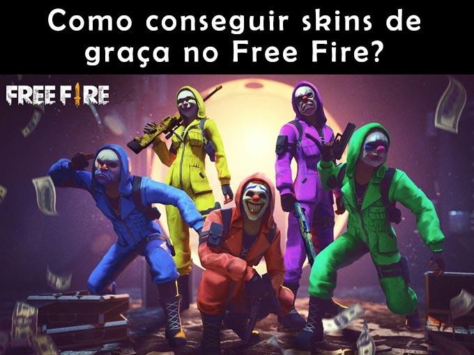 Como conseguir skins gratis no Free Fire?
