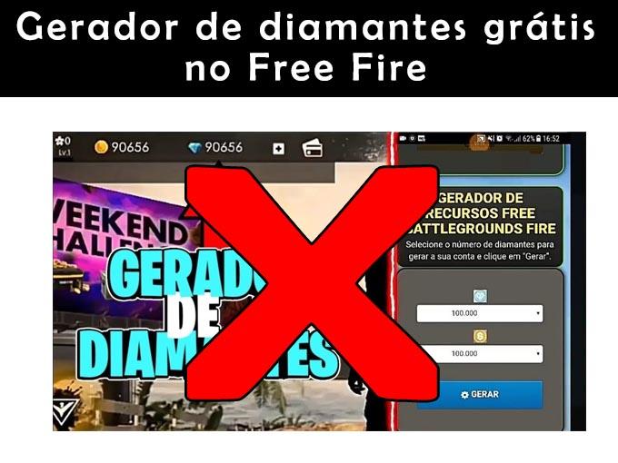Gerador de diamantes free fire
