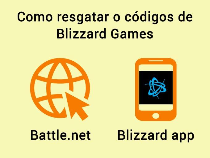 Como resgatar o codigo Blizzard