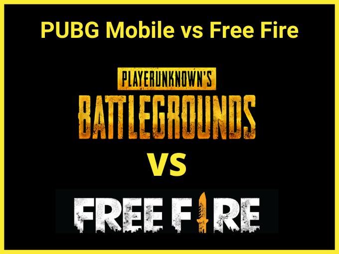 PUBG vs Free Fire: Qual é o melhor jogo